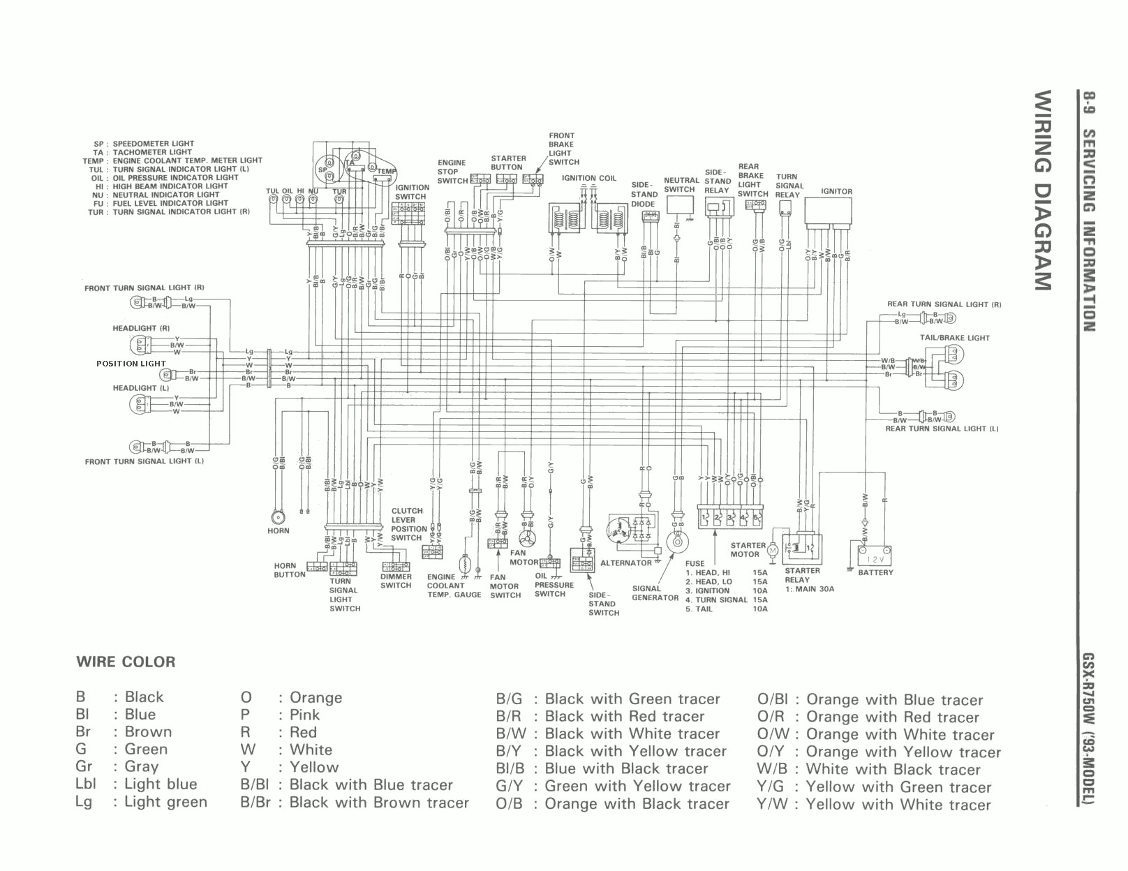 WRG-7488] 1993 Xr650l Wiring Diagram on
